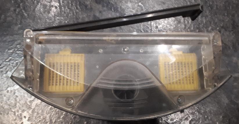 пылесборник робота пылесоса - ремонт двигателя