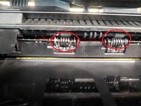 Ошибка E0 в HP M1132 из-за роликов