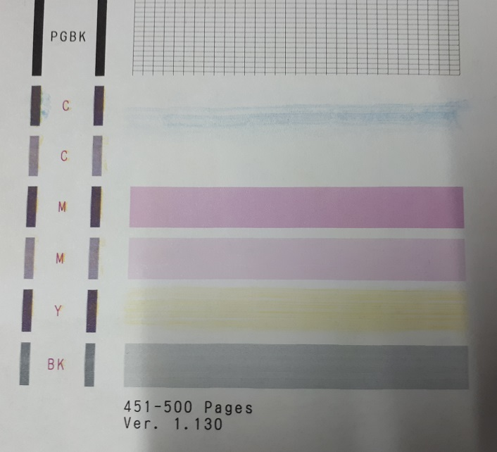 плохое качество печати принтера с совместимыми картриджами