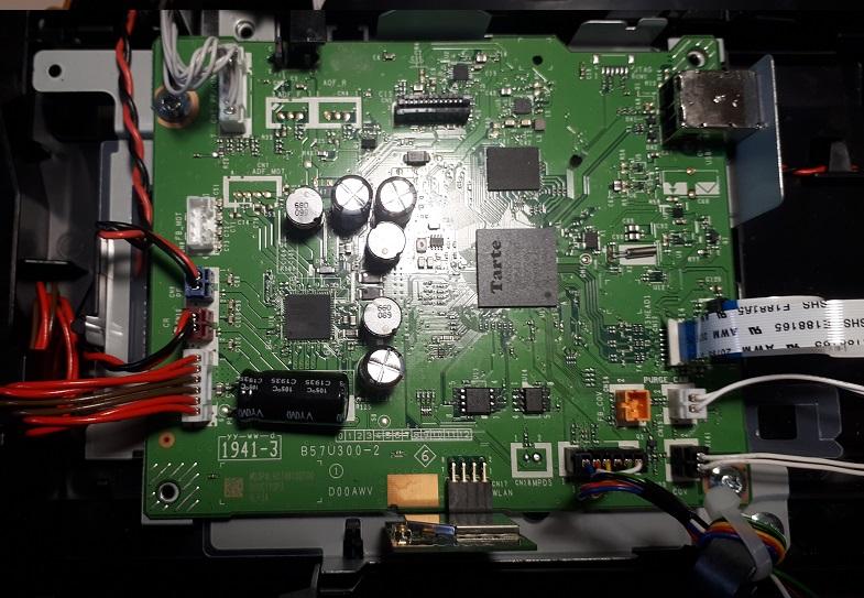 ремонт платы Brother DCP-T510W не включается